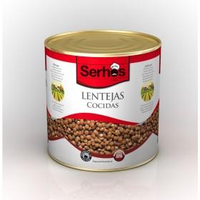COOKED LENTILS 3 KG